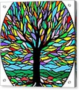 Prayer Tree Acrylic Print