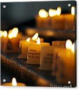 Prayers And Hope Acrylic Print