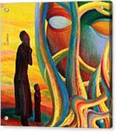 Prayers At The Tree Of Life Acrylic Print