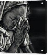 Prayers Acrylic Print