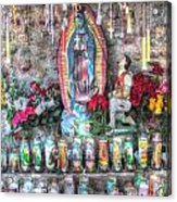 Prayers To Our Lady Of Guadalupe Acrylic Print