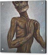 Praying Cadaver Acrylic Print