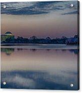 Pre-dawn At The Jefferson Memorial  Acrylic Print