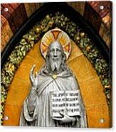 Preach The Gospel Acrylic Print