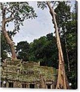 Preah Khantemple At Angkor Wat Acrylic Print