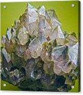 Precious Crystals Acrylic Print