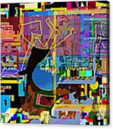 precious is man for he is created in the Divine Image 8 Acrylic Print by David Baruch Wolk