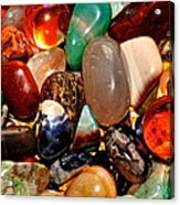 Precious Stones Acrylic Print by Frozen in Time Fine Art Photography