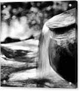 Precious Water Acrylic Print by Tim Gainey