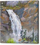 Precipitous Falls Acrylic Print