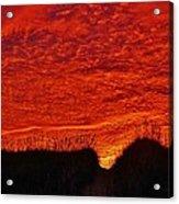 Predawn Dune Color Explosion 5 10/30 Acrylic Print