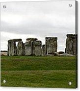 Prehistoric Monument - Stone Henge Acrylic Print