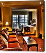 Premier Balcony Suite At The Sagamore Resort  Acrylic Print