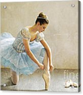 Preparation For Dance - D008548-a Acrylic Print