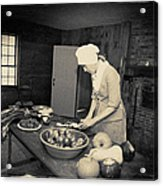 Preparing Dinner Acrylic Print