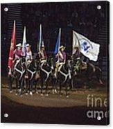 Presenting The Colors On Horseback Acrylic Print