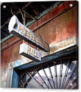 Preservation Hall Acrylic Print