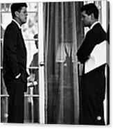 President John Kennedy And Robert Kennedy Acrylic Print