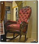 President Lincoln's Chair Acrylic Print
