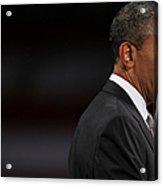 President Obama Speaks On The Economy Acrylic Print