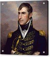 President William Henry Harrison Acrylic Print