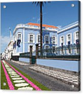 Presidential Palace - Azores Acrylic Print