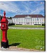 Presidential Palace Berlin Germany Acrylic Print