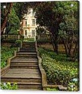 Presidential Palace Garden Acrylic Print