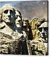 Presidential Rocks Acrylic Print