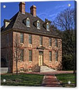 President's House College Of William And Mary Acrylic Print