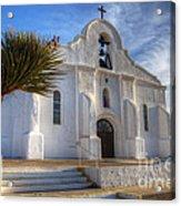 Presidio Chapel San Elizario Texas Acrylic Print