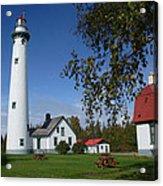 Presque Isle Mi Lighthouse 4 Acrylic Print
