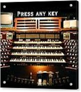 Press Any Key Acrylic Print