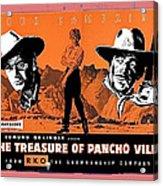 Pressbook The Treasure Of Pancho Villa 1955 Acrylic Print
