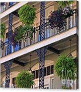 Pretty Balcony Acrylic Print