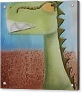 Dinoart Raptor Acrylic Print