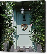 Pretty Door In Nether Wallop Acrylic Print