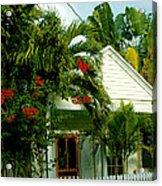 Pretty Key West Florida Acrylic Print