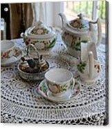 Pretty Tea Set Acrylic Print
