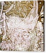Pretty Things 1 - Lingerie Art By Sharon Cummings Acrylic Print