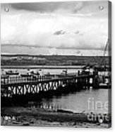 Priddy's Hard Jetty Acrylic Print