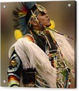 Pow Wow Native Pride 2 Acrylic Print
