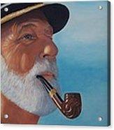Pride Of Sea Captain Acrylic Print