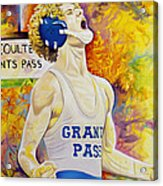 Primal Roar Acrylic Print