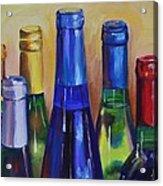 Primarily Wine Acrylic Print