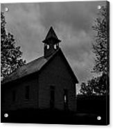 Primitive Church Acrylic Print