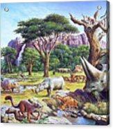 Primitive Mammals Acrylic Print