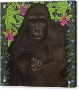Primordial Spirit Of Motherhood Acrylic Print