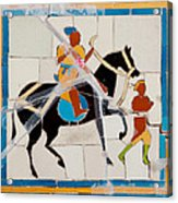 Prince And Servant Acrylic Print