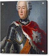 Prince Augustus William Oil On Canvas Acrylic Print